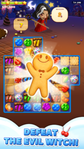 تصویر محیط Sweet Road: Cookie Rescue Free Match 3 Puzzle Game v6.8.1