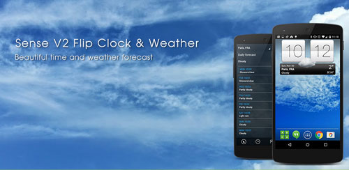Sense V2 Flip Clock & Weather v5.50.0.5