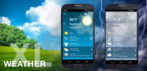 تصویر محیط Weather XL PRO v1.4.7.6