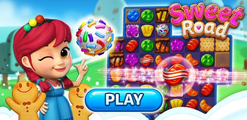 Sweet Road: Cookie Rescue Free Match 3 Puzzle Game v6.6.8