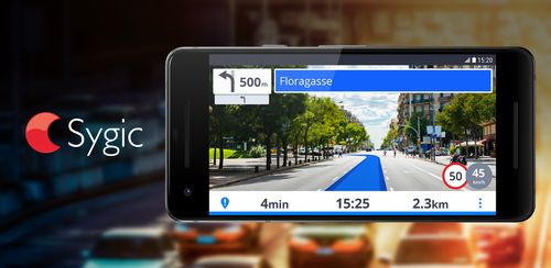 GPS Navigation & Maps Sygic v17.7.1 + data