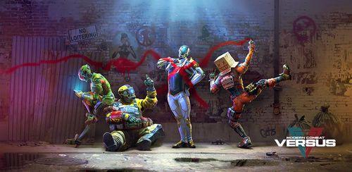 Modern Combat Versus: New Online Multiplayer FPS v1.14.1