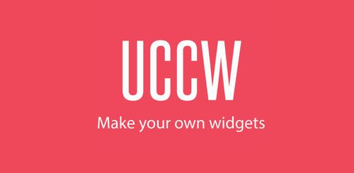UCCW – Ultimate custom widget v4.7.0