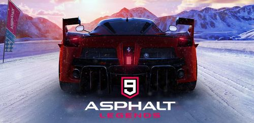 Asphalt 9: Legends – 2019's Action Car Racing Game v1.9.3a + data