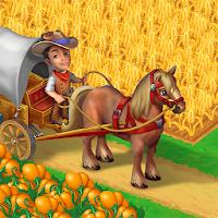 بازی مزرعه داری غرب وحشی با قابلیت چت کردن با دیگران آیکون
