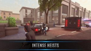 تصویر محیط Armed Heist: Ultimate Third Person Shooting Game v2.2.4