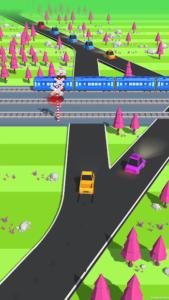 تصویر محیط Traffic Run! v1.6.6