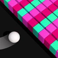 بازی سه بعدی هدایت توپ و خارج کردن آجر ها از مسیر آیکون