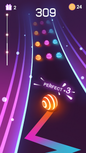 تصویر محیط Dancing Road: Colour Ball Run! v1.4.1