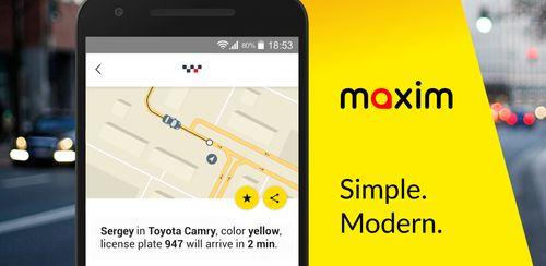 Maxim – order a car v3.7.8s
