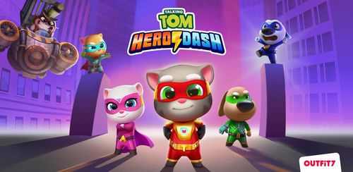 Talking Tom Hero Dash v1.2.1.667