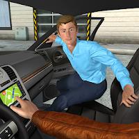 بازی شبیه ساز رانندگی با تاکسی با ماشین های جدید آیکون