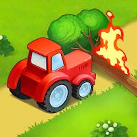 بازی مزرعه داری شهر کوچک آیکون