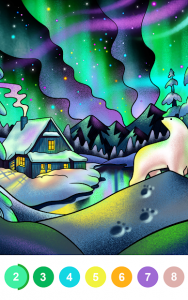 تصویر محیط Paint By Number – Free Coloring Book & Puzzle Game v2.46.0