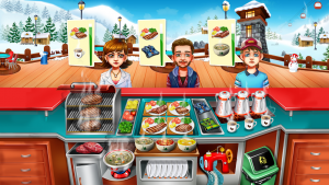تصویر محیط Cooking Fest : Chef Restaurant Girls Cooking Games v1.30