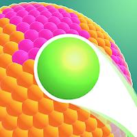 بازی پرتاب توپ رنگی به سمت شکل آیکون
