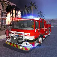 بازی جدید شبیه ساز آتش نشانی با جزئیات کامل آیکون
