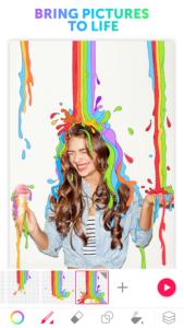 تصویر محیط PicsArt Animator: GIF & Video v3.0.3