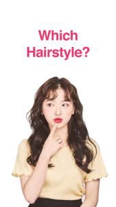 تصویر محیط Hairfit – k-pop hairstyle simulator v1.0.13