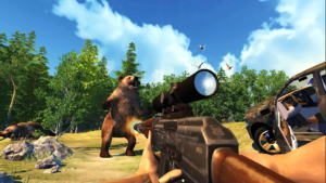 تصویر محیط Hunting Simulator 4×4 v1.22