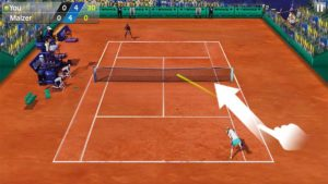 تصویر محیط 3D Tennis v1.8.0
