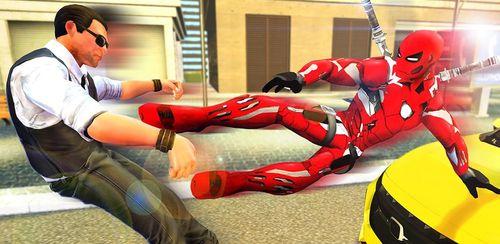 Superhero Iron Ninja Battle: City Rescue Fight Sim v11