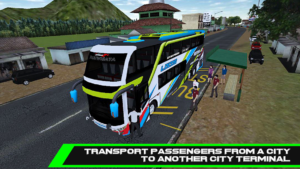 تصویر محیط Mobile Bus Simulator v1.0.2